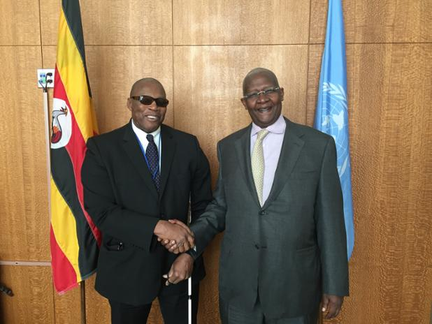 Ambassador Webson meets with President of the General Assembly H.E. Sam Kutes