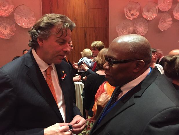 Ambassador Webson and meet with Dutch Foreign Minister and PR